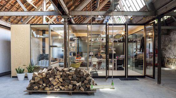 raum im raum Pop up Pinterest Raum und Architektur - einzimmerwohnung einrichten interieur gothic kultur