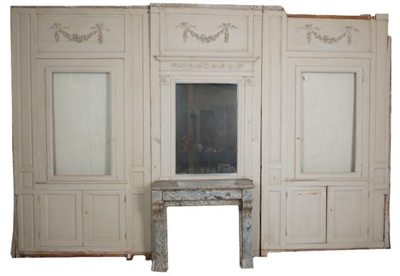 French Boiserie | back next french 19th century painted boiserie french painted wall ...