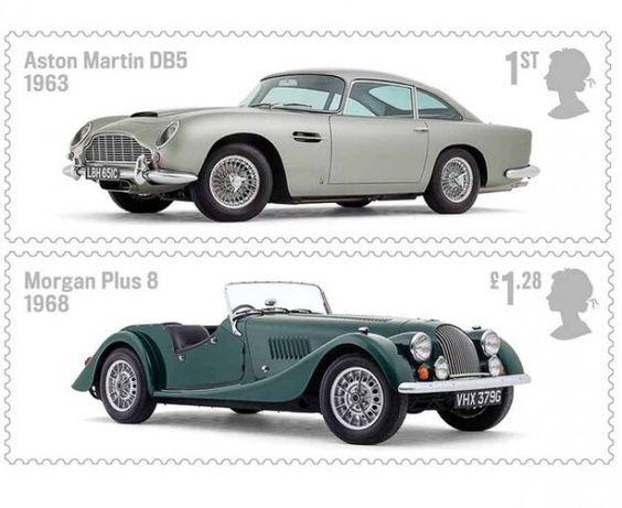 L'azienda postale britannica emette una serie speciale di francobolli - Made in UK - Royal Mail ha appena rilasciato in circolazione una serie speciale di francobolli, dedicata ad alcune delle leggendarie vetture prodotte nel Regno Unito. Si tratta di un set di sei francobolli che raffigura modelli passati alla storia delle quattro ruote come l'Aston Martin DB5, la Jaguar E-type, la Lotus Esprit, la MG MGB, la Morgan Plus 8 e la Rolls-Royce Silver Shadow.