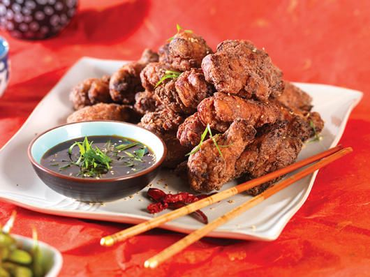 Mochiko Chicken Wings with Caramel Ginger Sauce Recipe | Foodland