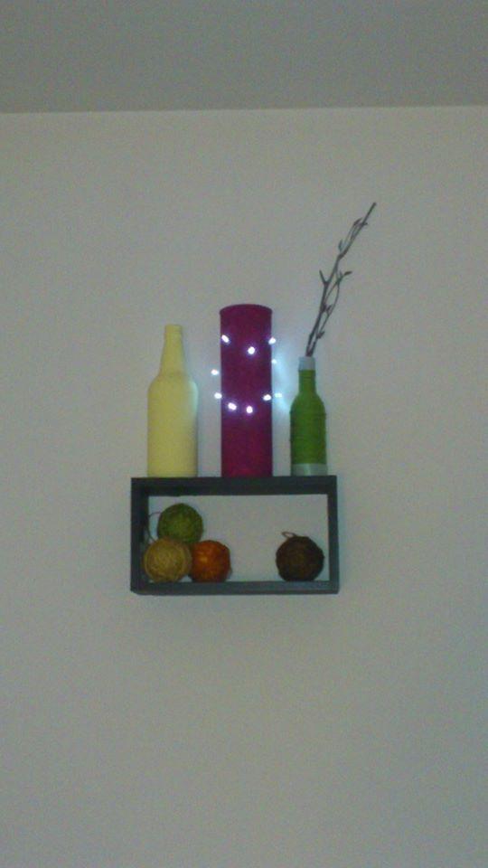 pringles tin made into a light