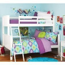 Your Zone Zzz Collection Twinoverfull Bunk Bed White You Can Find Out More Details At The Link Of The White Bunk Beds Kids Bedroom Furniture Kids Bunk Beds