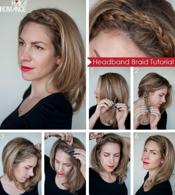 Hair-Romance-braided-headband-Tutorial-Collage