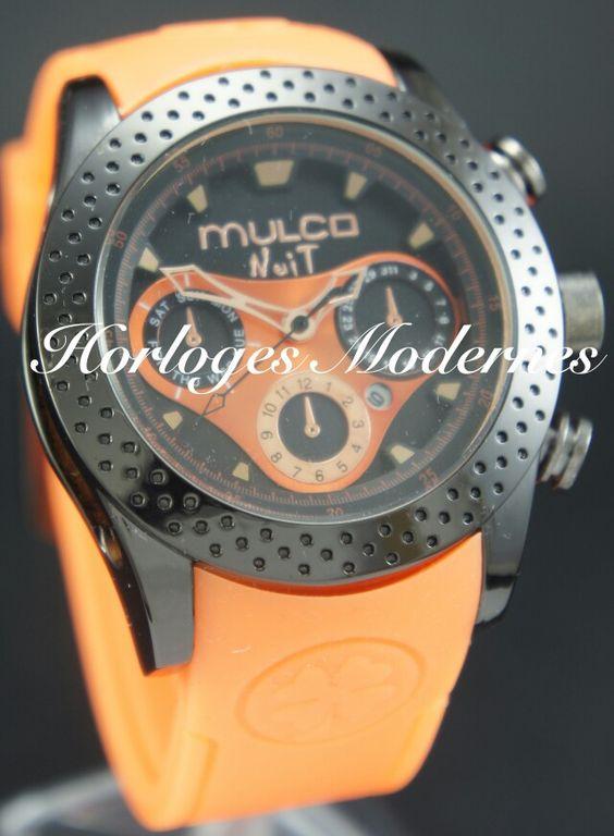 Mulco Nuit mia anaranjado