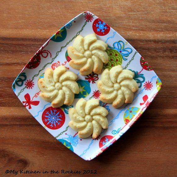 Spritzgebäck - A German Cookie using a cookie press!!