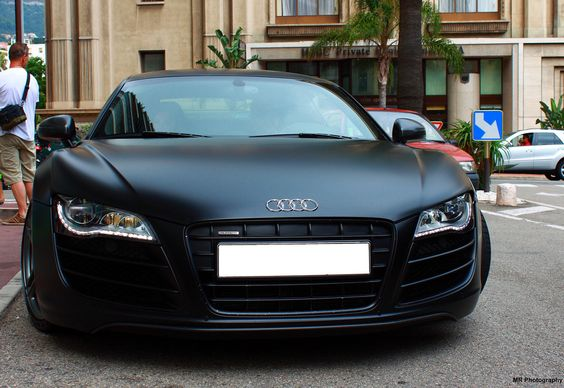 Mean R8 is mean. #Audi - One of my favorite cars