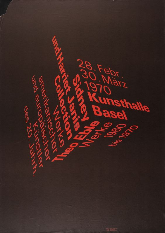 typographic posters - Google Search