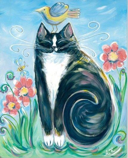 Tuxedo Cat: