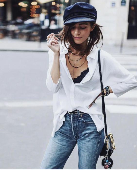 ХИТ СЕЗОНА: БРЕТОНСКАЯ КЕПКА - идеи стильных образов на осень | StyleLIVE.com | Яндекс Дзен