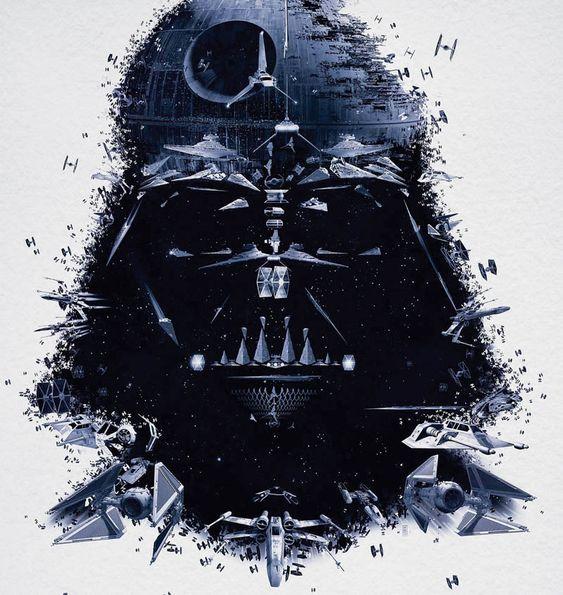 Star Wars Identity Posters.