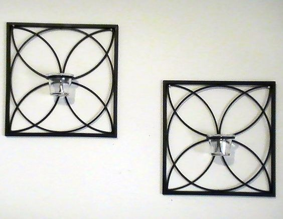 SCONCE BELOW NO LONGER FOR SALE FROM THE TWO VENDORS. SO.... Wall Mounted Candle Holders Modern ...