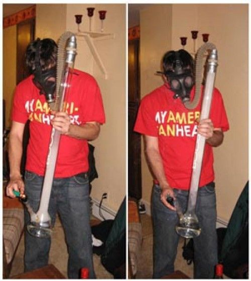 Top 10 Creative Weed Gas Mask