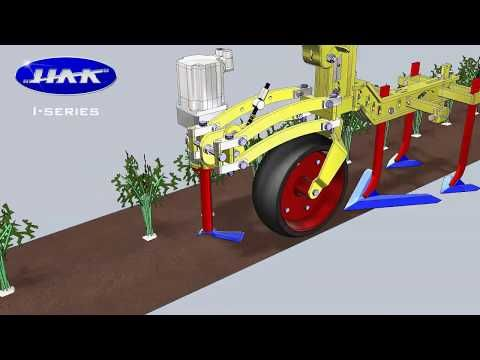 Hak Intelligent Hoeing Machine With Crop Recognition Youtube Tractor Implements High Resolution Camera Machine