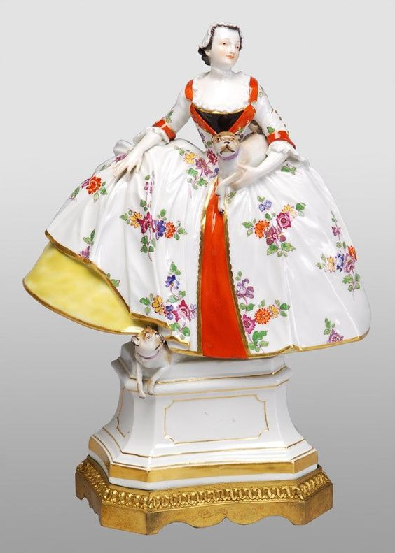 Meissen Porcelain Manufactory (Germany) — Lady of Mopsorden (570x800):