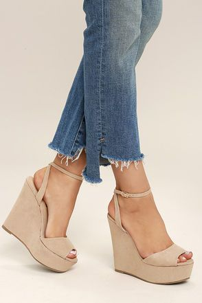 49 Wedges Shoes That Will Make You Look Fantastic shoes womenshoes footwear shoestrends
