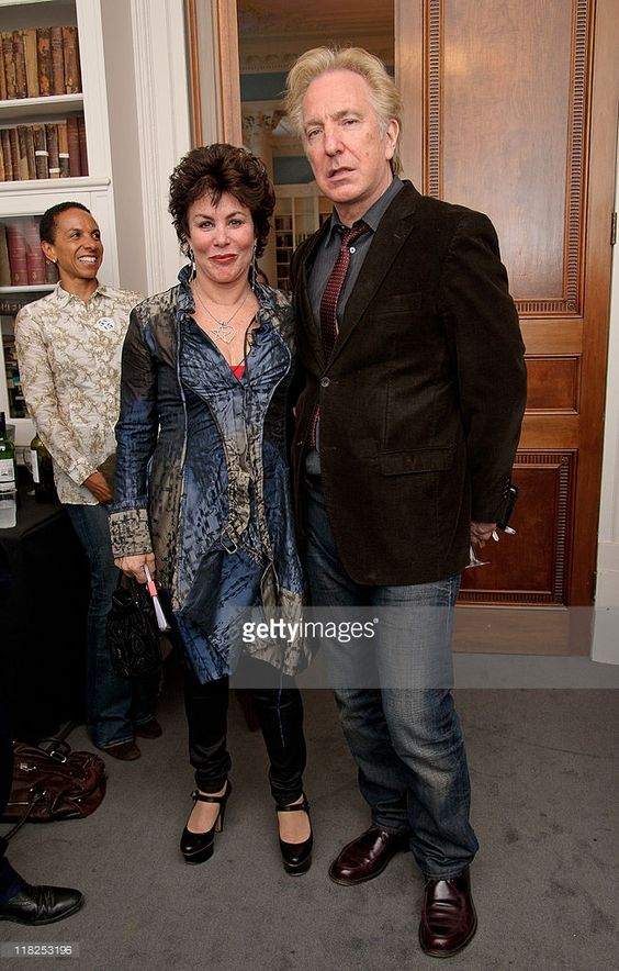 "July 5, 2011 -- Ruby Wax and Alan Rickman attend ""Independent Voices 5x15: Hacked Off with Free Speech"" at The Royal Institute of Great Britain in London, England. 5x15 is an innovative format that features five speakers talking about their ideas and passions in – as the name suggests – 15 minutes."