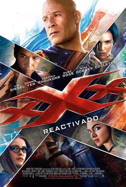 Nuevo Poster Latino de XXX: REACTIVADO https://t.co/s5A1LE0eZZ