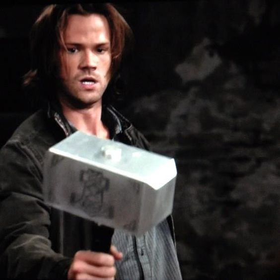 Whoever wields this hammer, if he be worthy, shall possess the power of Thor.