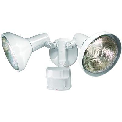 Heath Zenith Flood Light Hz 5512 Bz 240 Degree Halogen Motion Security Light White Motion Sensor Lights Outdoor Outdoor Flood Lights Security Lights
