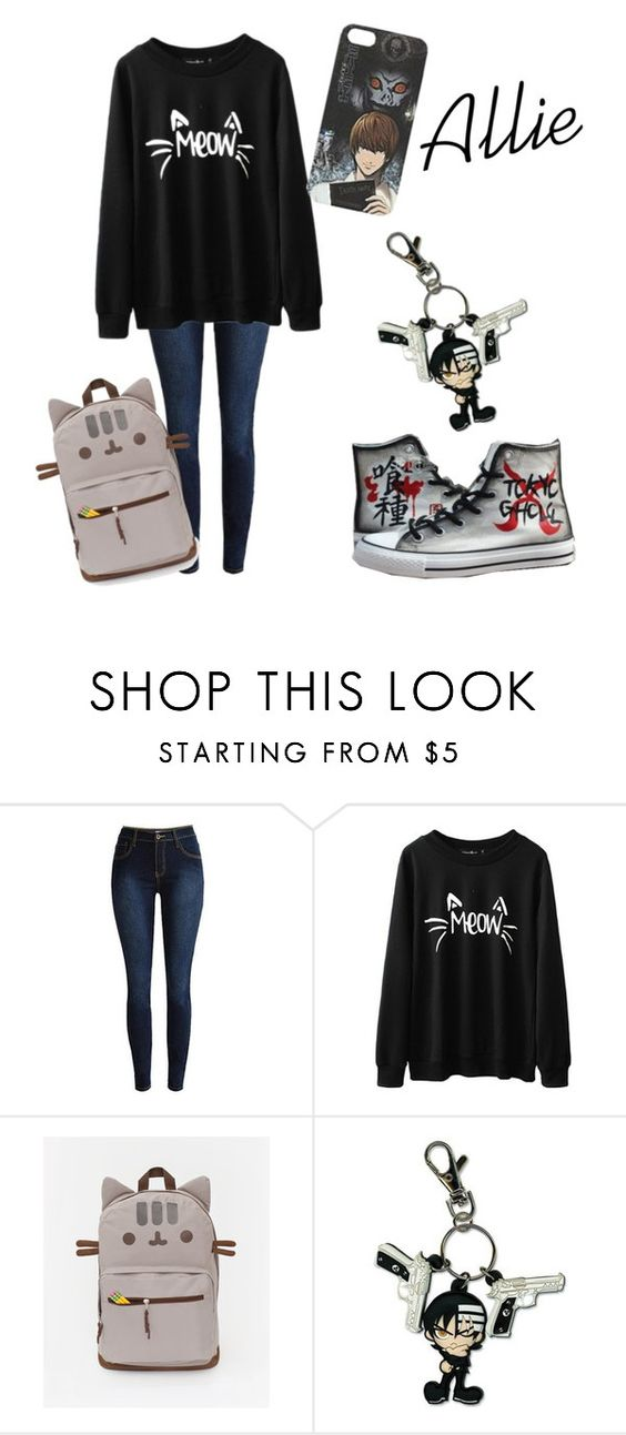 """""""Allie Collection: A Day at School"""" by rui-kasahara ❤ liked on Polyvore"""