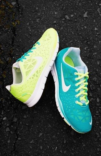 Bright new Nikes