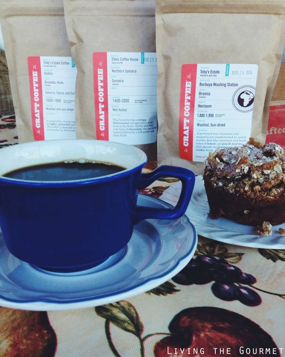 Spelt Raisin & Molasses Muffins & Craft Coffee ...get 15% off your next coffee order for #craftcoffee - an exclusive special for #LTG readers!