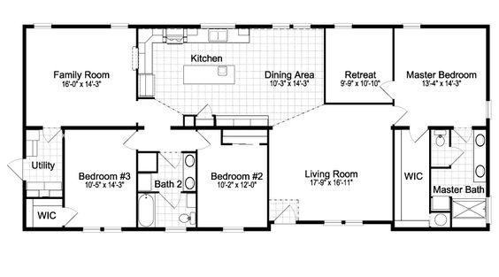 Home floor plans floor plans and modular floor plans on for Modular home floor plans with two master suites