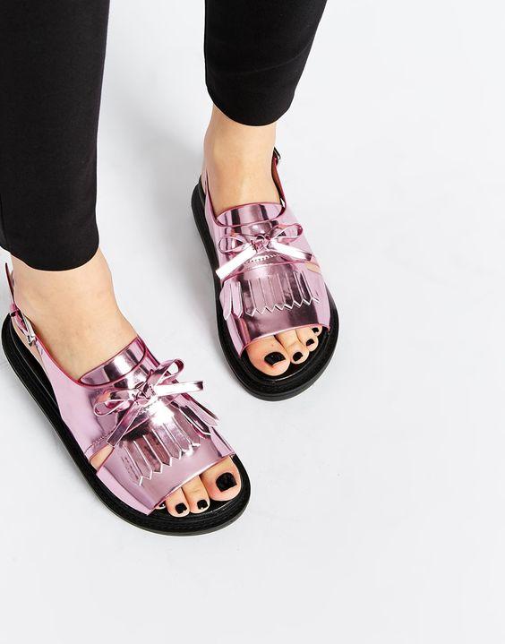FANYA - Sandales à franges