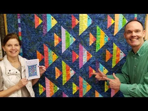 Carpenter S Wheel Forget Diamonds Use Half Square Triangles Youtube Fish Quilt Pattern Fish Quilt Quilt Patterns