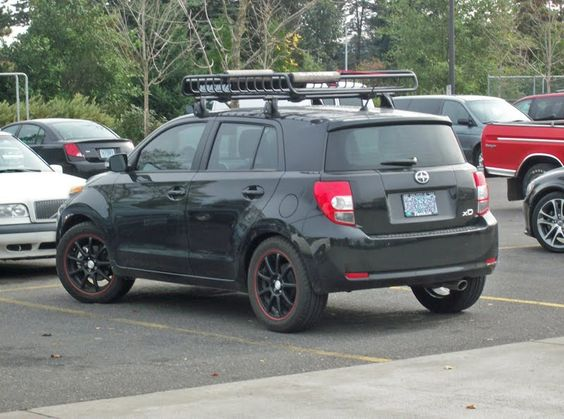 An Xd With A Nice Big Rack Scion Xd Roof Rack Scion