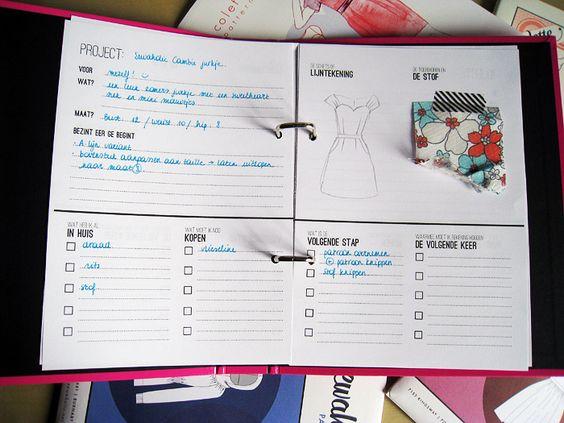 De naaiplannenplanner - Verbeelding