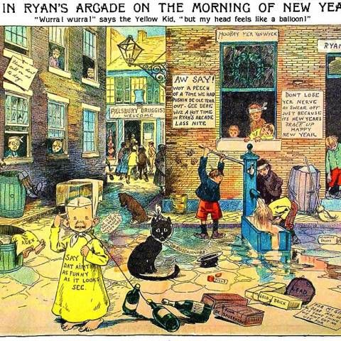 the beginning of modern comic in joseph pulitzers new york world in 1895 Here are important moments in the emergence of yellow journalism in the late nineteenth century 1895 — joseph pulitzer, proprietor of the new york world.