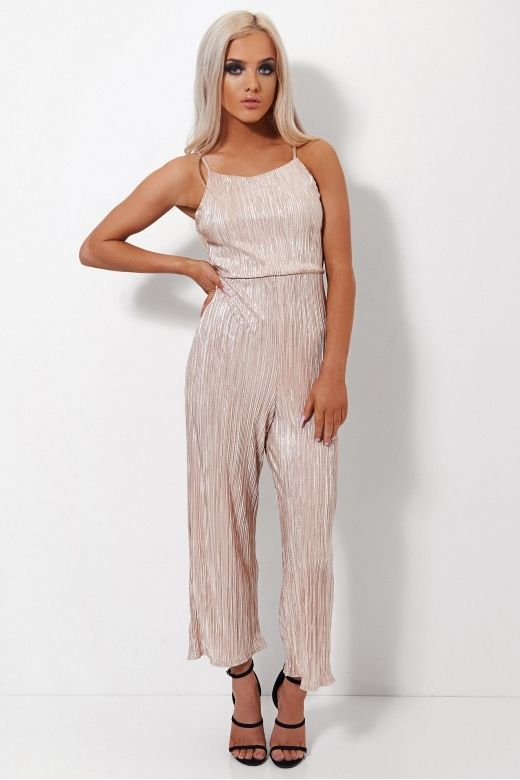 6f69282edb5 Gold Satin Tie Back Jumpsuit Clothing   The Fashion Bible. Looking for  Designer Clothing  The Fashion Bible features a fantastic range of Fashion  clothing ...