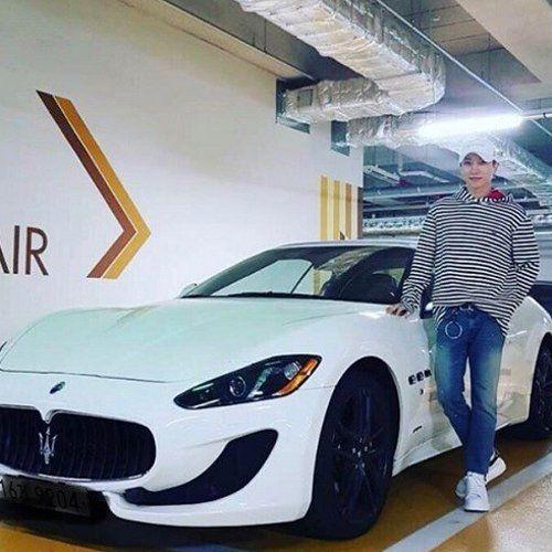 Leeteuk Gets Sports Car Worth 200 Million Won Leeteuk Korean Entertainment News Sports Car