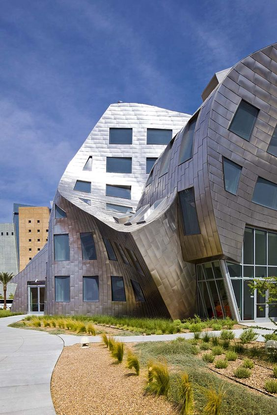 Cleveland Clinic: Lou Ruvo Center for Brain Health by Frank Gehry