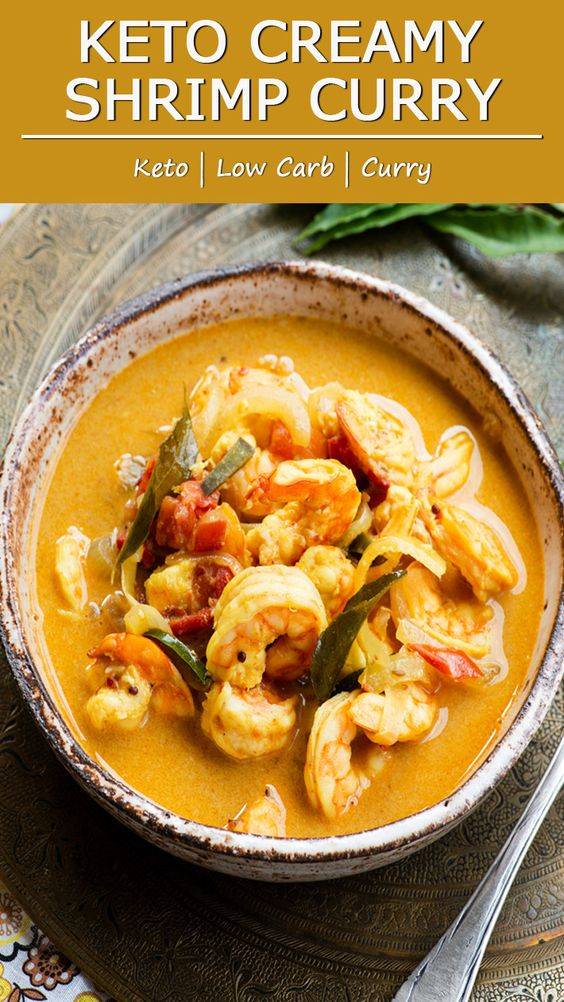 Keto Creamy Shrimp Curry - More Than Lifestyle