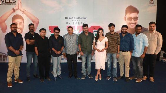 RJ Balaji Speech At LKG Movie Press Meet