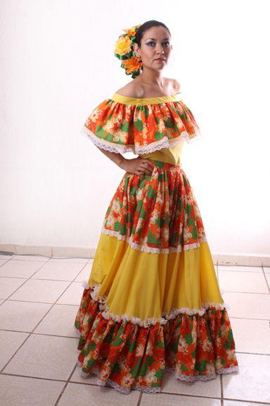 Traje típico de Querétaro.