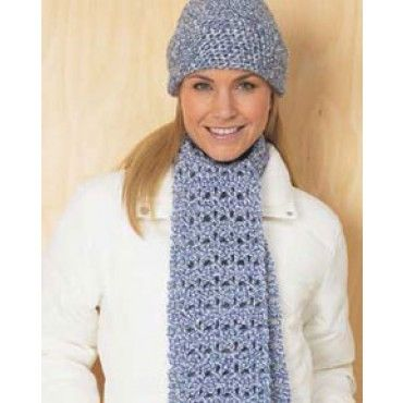 Free Crochet Patterns For Hat And Scarf Set : Free pattern, Crafts and Hooks on Pinterest