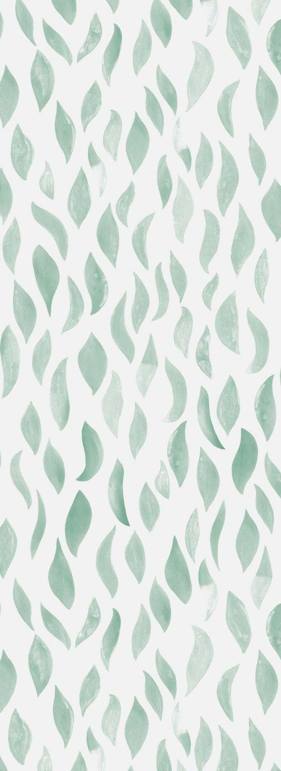 Petals Wallpaper In Sage Simplistic Wallpaper Wallpaper Iphone Boho Boho Wallpaper