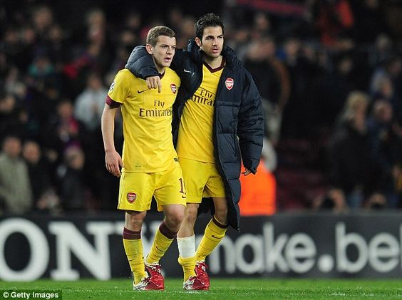 Jack Wilshere says he learned a great deal from former team-mate Cesc Fabregas. (Photo: Getty Images)