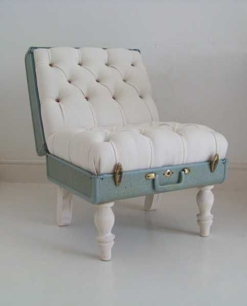 ideas for Old Suitcase Vintage Luggage   Attractive idea to reuse, recycle and upcycle old suitcases, creating ...