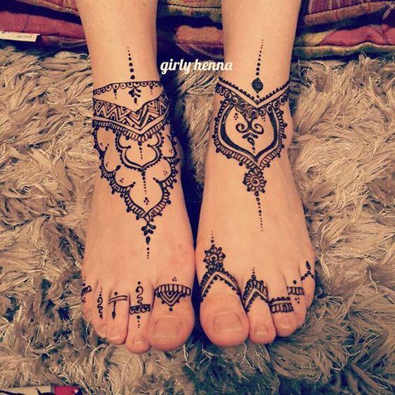 Feet design