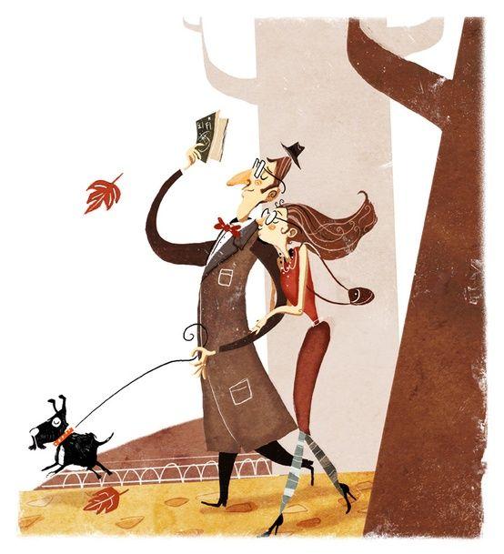 O cão que comeu o livro...: Leitores de Outono / Autumn readers: