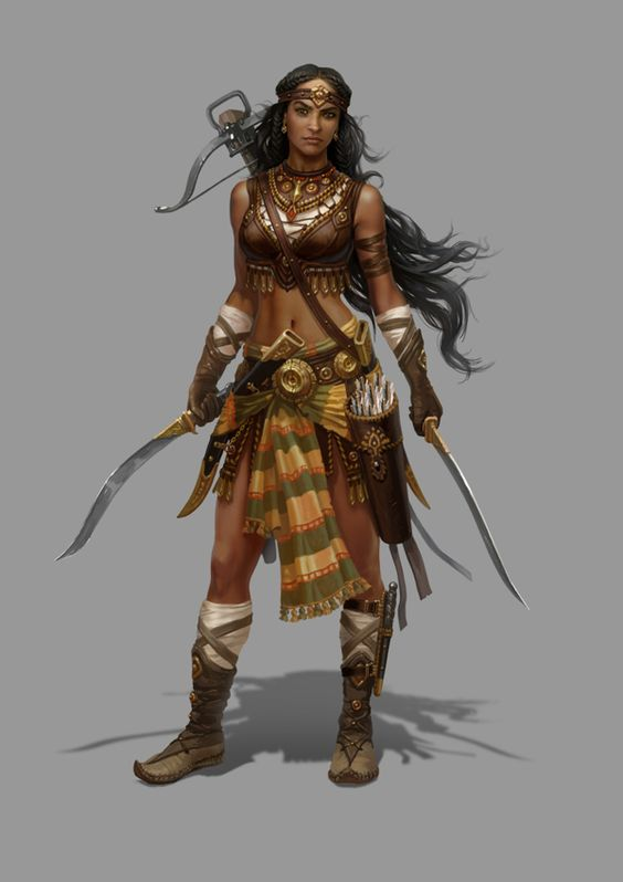 my warrior image... woman. Rise of Heroes by Grafit , via Behance