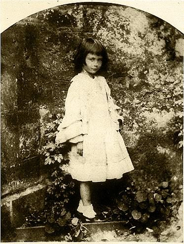 """The real """"Alice"""", Alice Liddell. This photograph was taken by Lewis Caroll."""
