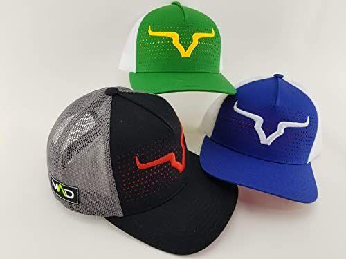 Custom Flexfit Hats for Men /& Women Grey Mad Cowboy Hat Skull Embroidery