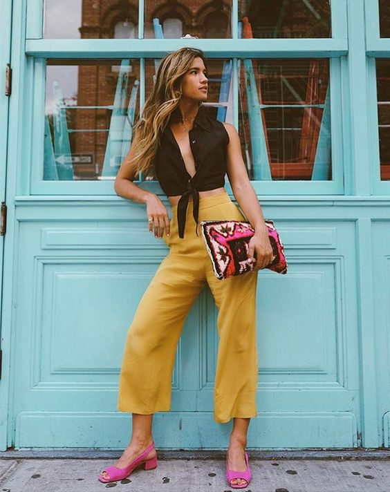 Amarelo: A cor que está bombando nos looks das it girls » Fashion Break