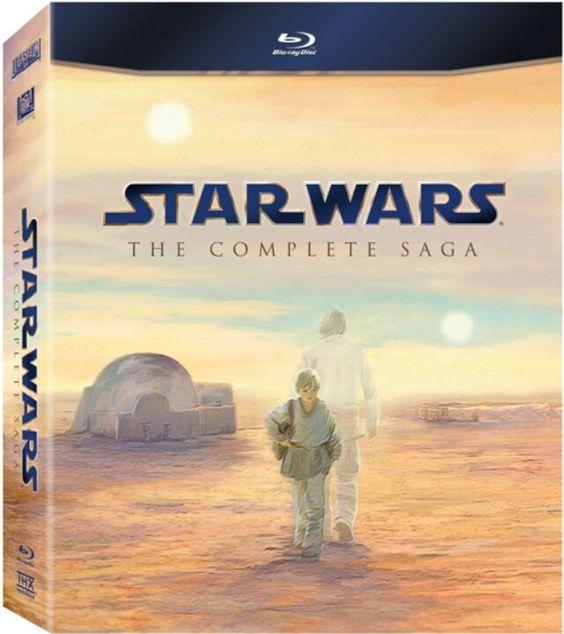 Star Wars, The complete saga, Bluray