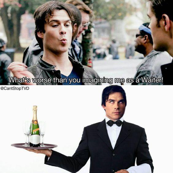 "the vampire diaries on Instagram: """"Why couldn't I have been a manager""  QOTD : what do you think of the new episode? • • • #paulwesley #ninadobrev #iansomerhalder #stefansalvatore #stelena #steroline #delena #bamon #elenagilbert #damonsalvatore #tvd #thevampirediaries #vampirediaries #bonniebennett #carolineforbes #candiceaccola #katgraham #vampire #theoriginals #to #klaroline #klausmikaelson #season7 #dobsley #nian #somerholics #teenwolf #pll #supernatural #prettylittleliars"""